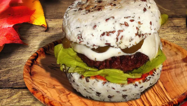 fogyókúrás hamburger)